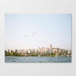 Istanbul Views Canvas Print