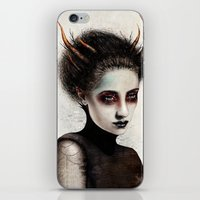 death iPhone & iPod Skins featuring Death by Feline Zegers