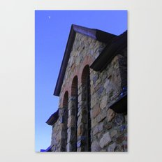 St. Malo Chapel Arches Canvas Print
