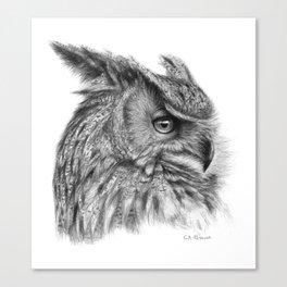 Eagle Owl G085 Canvas Print