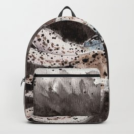 Squid ink and tentacles Backpack