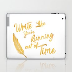 like your running out of time Laptop & iPad Skin