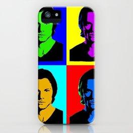 Jared Padalecki Pop Art iPhone Case