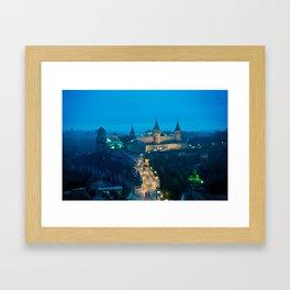 Kamianets-Podilskyi Castle (Ukraine) Framed Art Print