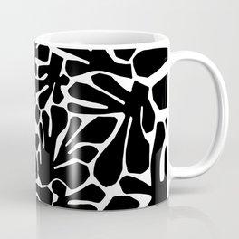 The Cut Outs // B&W Coffee Mug