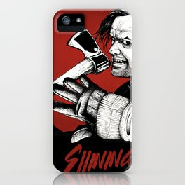 Shining - Here's johnny iPhone Case
