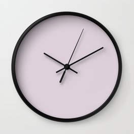 Gifts from the Garden ~ Light Lavender Wall Clock