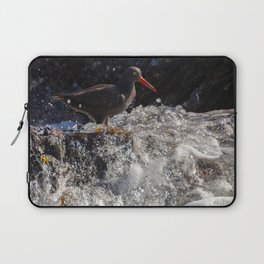 Standing before the Wave Laptop Sleeve