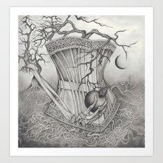 Apple Curse Art Print