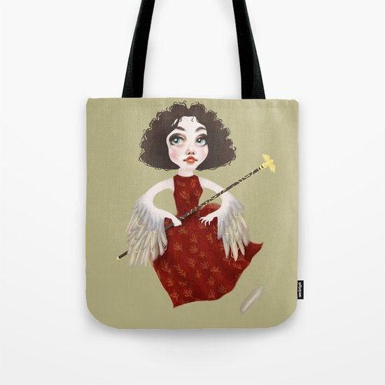 Winged Queen Tote Bag