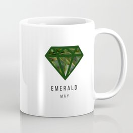 Emerald gemstone mug - May Coffee Mug