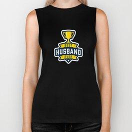 Best Husband Ever Biker Tank