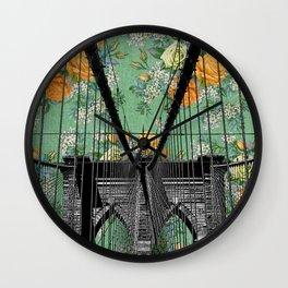 Brooklyn, Brooklyn Take Me In Wall Clock