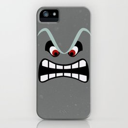 Minimalist Thwomp iPhone Case
