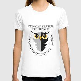CUTE SMART OWL T-shirt