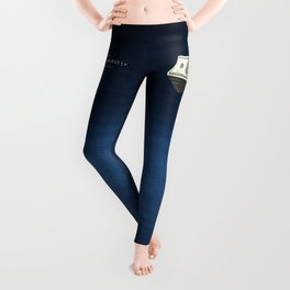 Show Me The Money - USD on Jeans Leggings