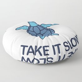 Life Is Good Take It Slow Floor Pillow