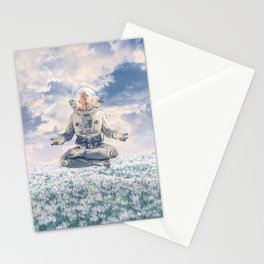 Dreamer In The Field Stationery Cards