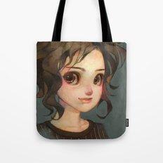 Subtle Smile Tote Bag