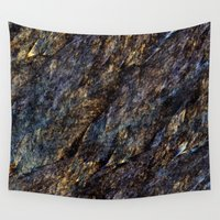 solid Wall Tapestries featuring Artificial - Solid Foundation by Andi GreyScale
