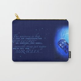 Tardis orbiting. Carry-All Pouch