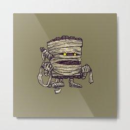 The Mummy Log Metal Print