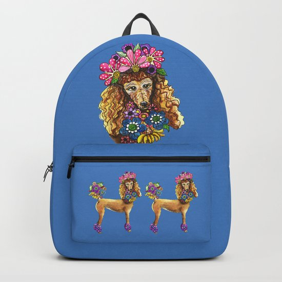 Poodle Dee Doo Two Backpack