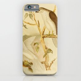 New Holland Goshawk White Goshawk4 iPhone Case