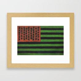 Reverse Patriot Framed Art Print