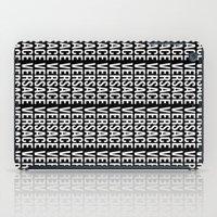 versace iPad Cases featuring Versace Versace Versace Versace by hypsterism