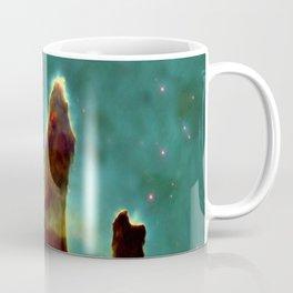 The Pillars of Creation in the Eagle Nebula (NASA/ESA Hubble Space Telescope) Coffee Mug