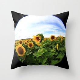 Sunflower 23 Throw Pillow
