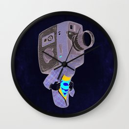 Super8 Wall Clock