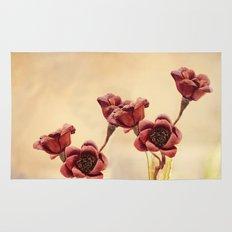 Ruby Red Rug