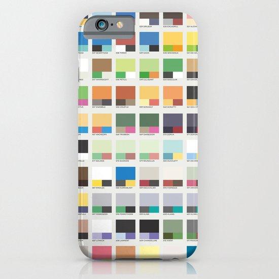 Poke-Pantone 5 (Unova Region) iPhone & iPod Case