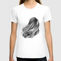 hair T-shirts featuring hair by Isabel Seliger