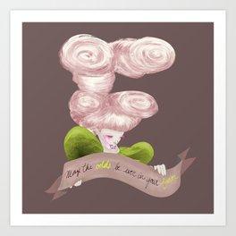 E for Effie Trinket Art Print