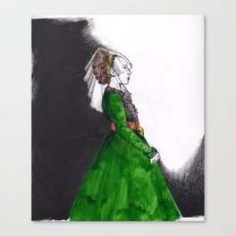 Northern Renaissance Woman Canvas Print