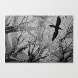 Corvid Canvas Print