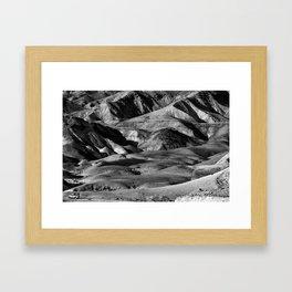 Driving across the Judean Desert Framed Art Print