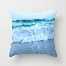 Ocean Pull Throw Pillow