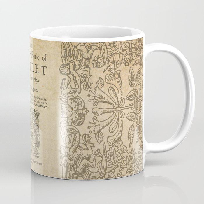 Shakespeare, Hamlet 1603 Coffee Mug