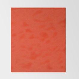 evening redness Throw Blanket