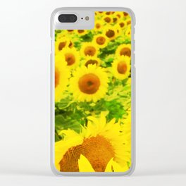Solsikker Clear iPhone Case