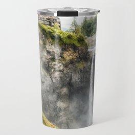Snoqualmie Falls, Washington State Travel Mug