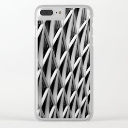 The Grid Clear iPhone Case