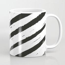 white strong lines cross Coffee Mug