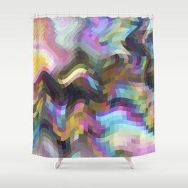Crazy Quartz Shower Curtain