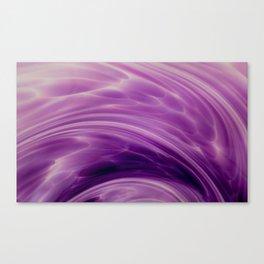 Violet Paths Canvas Print