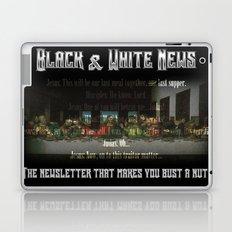 The Black & White Last Supper Laptop & iPad Skin